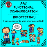 AAC Functional Communication - I CAN USE MY WORDS WHEN OTH