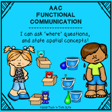 AAC Functional Communication - I can ask and answer 'where