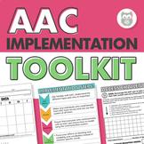 AAC Implementation Toolkit: Training, Handouts, Data Sheet