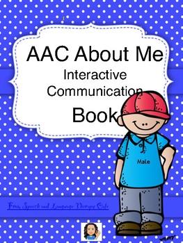 AAC Interactive Communication Notebook