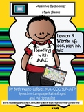 AAC:  Learning to Read Lesson 4