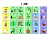 AAC Low Tech Manual Board for Playground