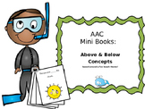 AAC Mini Book 4: Above & Below Concept Practice for Verbal