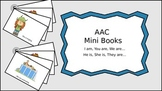 AAC Mini Books Set 2: I am, You are, We are, He is, She is