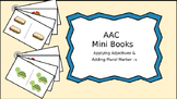 AAC Mini Books Set 3: Applying Adjectives & Plural -s; Ver