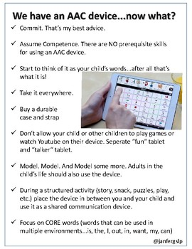 AAC Parent Handout