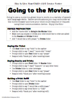 AAC Parent Series- Going to the Movies