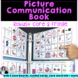 AAC Picture Communication Book with Robust Core and Fringe