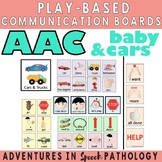 AAC Play-Based Communication Boards: Baby, Cars & Trucks