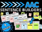 AAC Sentence Builders for Nonverbal Communication, ASD, Speech tx