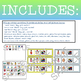 AAC Sentence Strips & Picture Icons (Speech and Language Therapy)