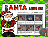 AAC, Sequencing, Vocabulary: Santa Berries