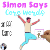 AAC Core Words Activities | Simon Says Core Words