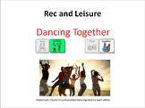 AAC Social Group Lesson: Dancing (Version 2). Includes Vid
