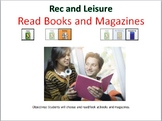 AAC Soical Group Lesson (Books and Magazines) Includes Video Model & Visuals