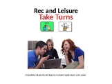 AAC Soical Group Lesson (Turn Taking/Music) Includes Video Model