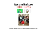 AAC Soical Group Lesson (Turn Taking/Games) Includes Video Model