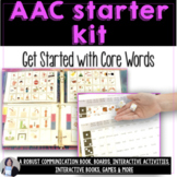 AAC Core Vocabulary Getting Started Activity Bundle for Be