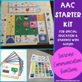 AAC CORE Vocabulary Starter Kit For Special Education & Students With Autism