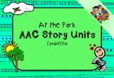 AAC Story Unit: At the park (Symbolstix)