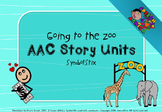 AAC Story Units: Going to the zoo (SymbolStix)