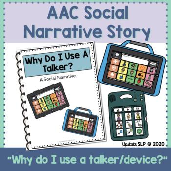 "AAC/Talker Social Story// ""Why Do I Use a Talker?"""