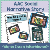 "AAC/Talker Social Story// ""Why Do I Use a Talker?"""