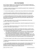 AAC Trial Procedures