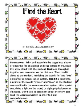 AAC Valentine Read Along