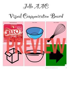 AAC Visual Recipe Series-Jello