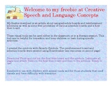 AAC Visual Supports for Therapy and in the Classroom