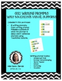 AAC Writing Prompts with TouchChat supports