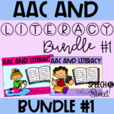 AAC and Literacy Bundle #1 for Speech Therapy