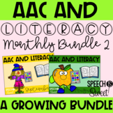 AAC and Literacy for the YEAR Set 2! {A Growing Speech The