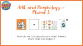 AAC and Morphology: Plural S with Boom Cards