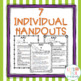 AAC and You--handouts for classroom teachers, parents, and caregivers BUNDLE