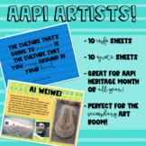 AAPI Artists Poster Pack!