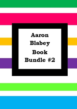 AARON BLABEY BOOK BUNDLE #2 - Worksheets - Picture Book Literacy