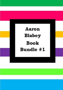 AARON BLABEY BOOK BUNDLE - Worksheets - Picture Book Literacy