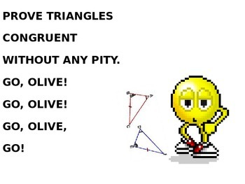 AAS AND HL TRIANGLE CONGRUENCE SONG