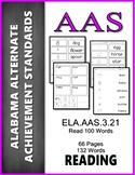 AAS Alabama Achievement Standards  RF 3.4 Read 100 Words