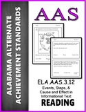 AAS Alabama Achievement Standards  RI 3.3 Identify events
