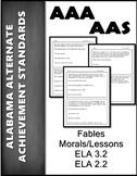 AAS Alabama Achievement Standards RL 3.2 Identify Feelings