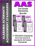 AAS Alabama Alternate Standards 3th GRADE Reading Standards