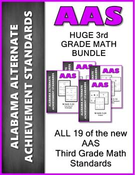 AAS Alabama Alternate Standards ALL 3rd GRADE MATH Standards