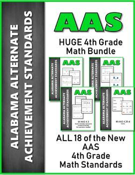 AAS Alabama Alternate Standards ALL 4th GRADE MATH Standards