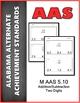 AAS Alabama Alternate Standards ALL 5th GRADE MATH Standards