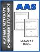 AAS Alabama Alternate Standards ALL 7th GRADE MATH Standards