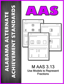 AAS Alabama Alternate Standards M 3.13 Fractions AAA