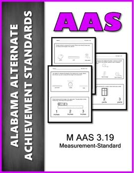 AAS Alabama Alternate Standards M 3.19 Measurement AAA